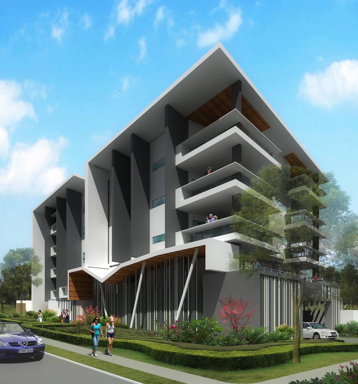Sherwood Apartments: Thinktank Architects